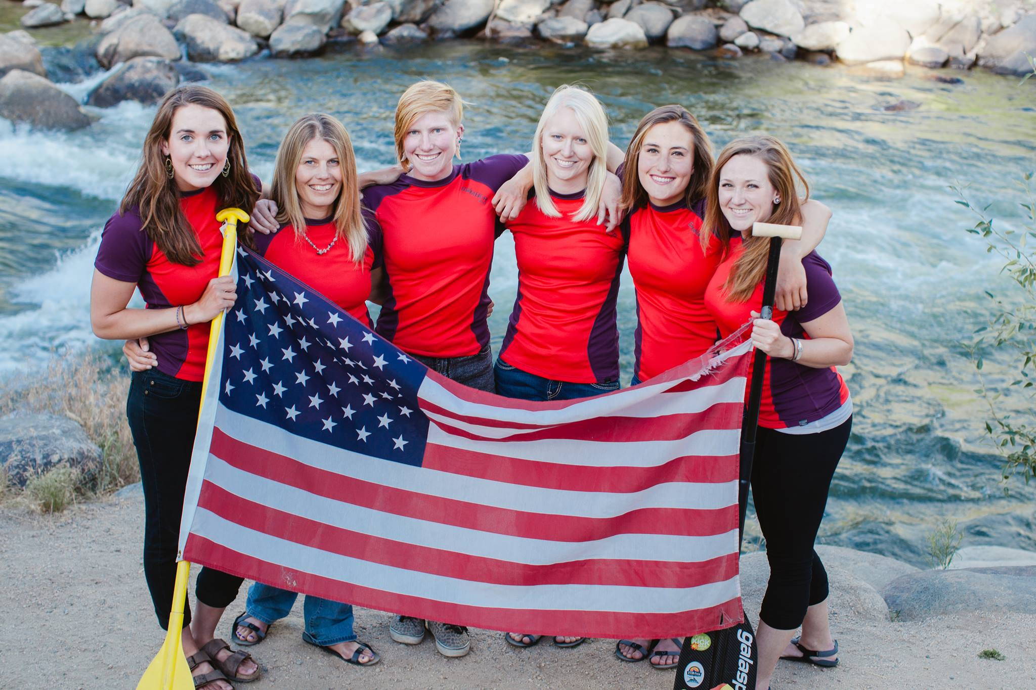 usra womens team - red ladies